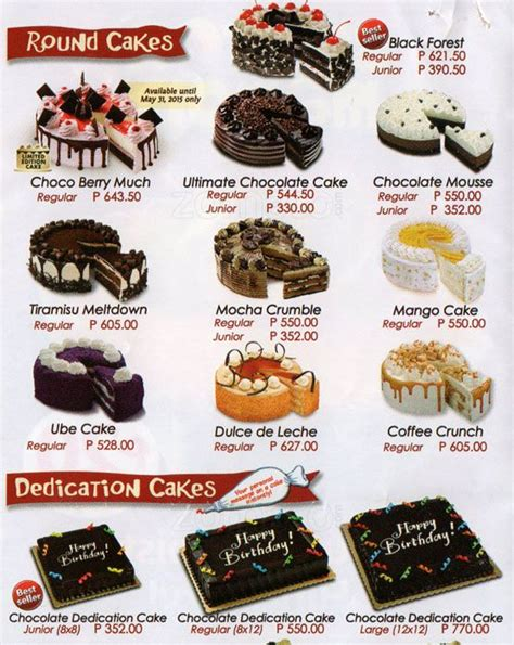 red ribbon bakeshop  bacolod pages