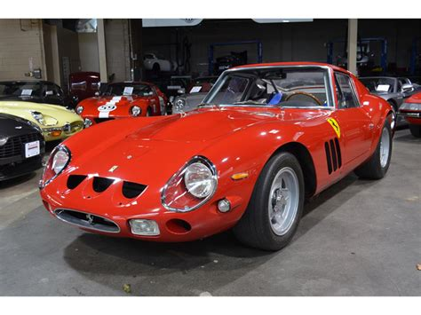It was powered by ferrari's tipo 168/62 colombo v12 engine. 1965 Ferrari GTO for Sale   ClassicCars.com   CC-1075219