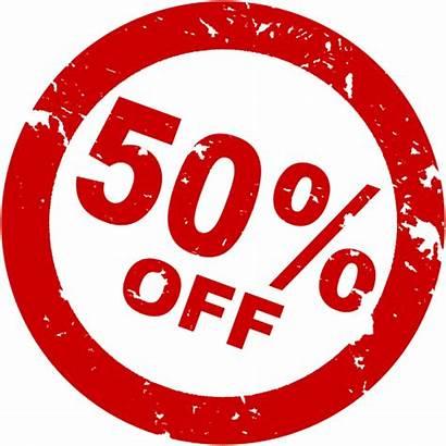 Discount Transparent Percent Half Offer Deal Sales