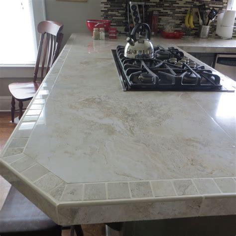 large porcelain tile kitchen countertops i used 24x24 inch polished porcelain tiles for the 8902