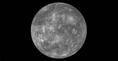 An Enhanced Image Of Planet Mercury