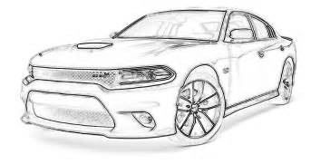 dodge challenger srt8 cars coloring pages. dodge charger coloring ...