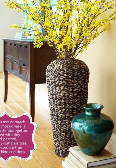 Decorating Ideas For Vases by Best 25 Floor Vases Ideas On Decorating Vases