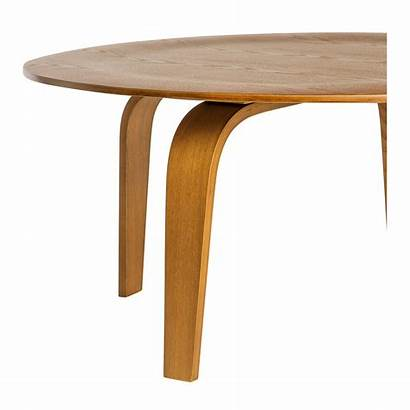 Table Coffee Walnut Plywood Replica Eames Moulded