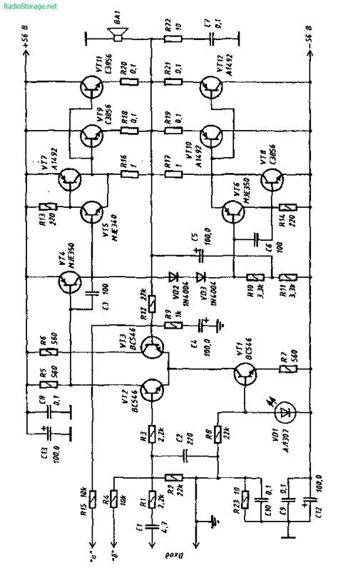 Рис. 1. Схема усилителя | schémy | Electronics, Home