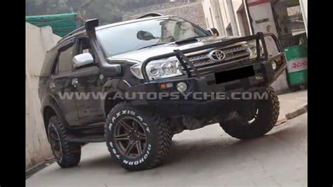 Toyota Fortuner Modification by Heaviely Modified Toyota Fortuner