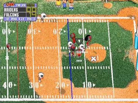 How To Play Backyard Football - backyard football season playthrough week 6 falcons