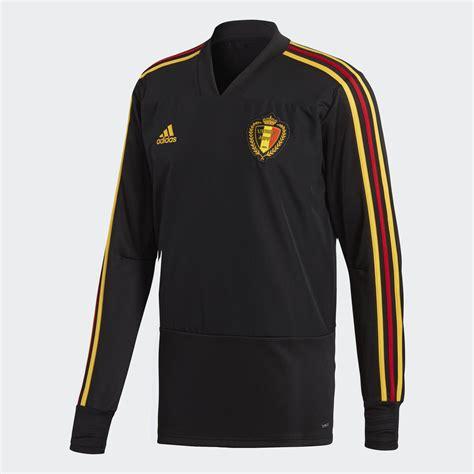 belgium  world cup adidas training top black bold