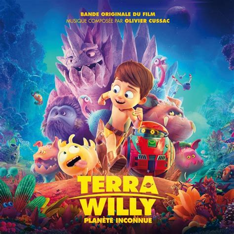 terra willy planete inconnue olivier cussac cd