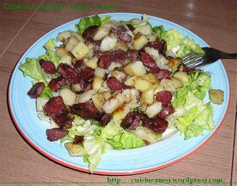 cuisiner des gesiers le plaisir de cuisiner salade de gésiers et chignons