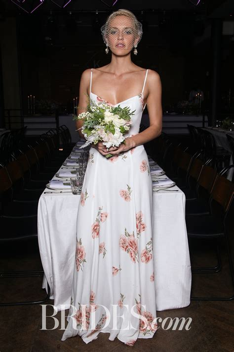 Reformation Bridesmaid With Pink Flower Print And