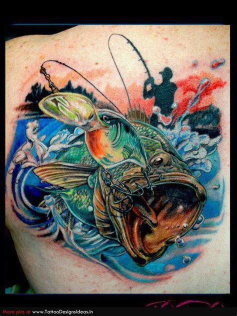 Fishing Boat Tattoo Designs by Fishing Tattoos Tatto Design Of Shark Tattoos Fish