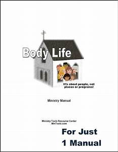Body Life Ministry Manual Download To Print One  U2013 Ministry