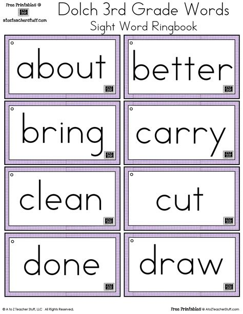 second grade dolch sight word activities homeshealth info