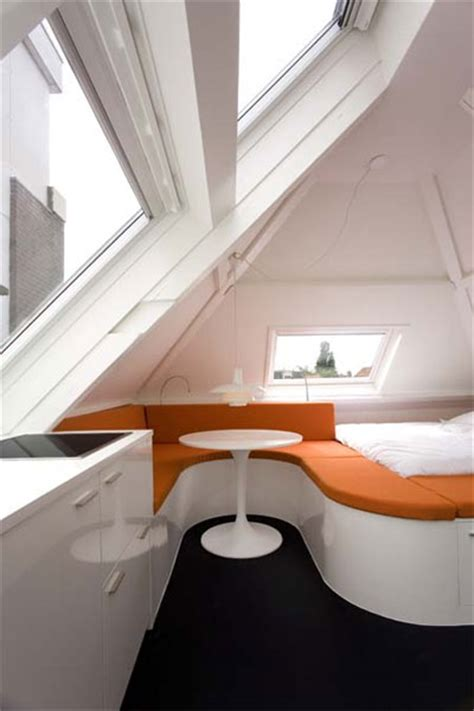 Maff Apartment Amazing Little Attic Space  Small Spaces