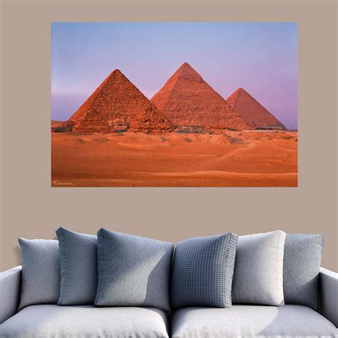 egyptian pyramids mural wall decal shop fathead