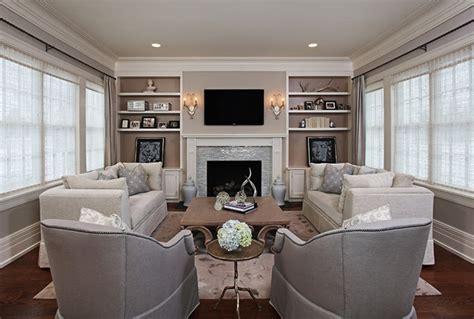 Elegant, Cozy Living Room   Traditional   Living Room   detroit   by Jane Spencer Designs