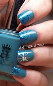 easy simple winter nail 2013 2014 for beginners