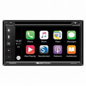 Soundstream Vrcp-65   Dvd Car Receiver With Bluetooth  Iphone Apple Car  Android Link