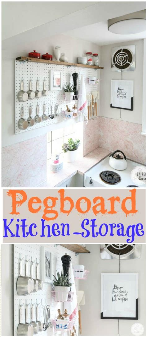 pegboard kitchen organizer 60 best pantry organization ideas diy diy crafts 1445