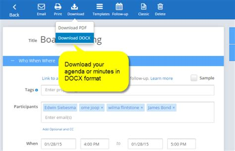 minutes  agenda  docx meeting agenda