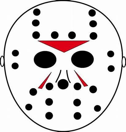 Jason Stencils Halloween Pumpkin Mask Template Scary