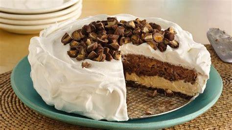 layered ice cream cookie cake recipe  pillsburycom