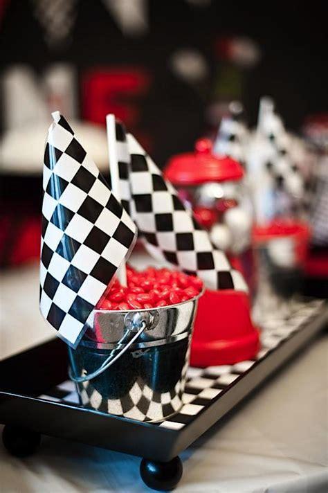karas party ideas race car cars boy racing diner  st