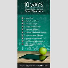 10 Ways Technology Helps Good Teachers To Become Great  Elearning Feeds