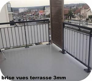 Brise Vue Plexiglass : brise vues plexiglas pare vent brise vent plexi balcon ~ Premium-room.com Idées de Décoration