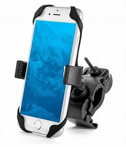 aeoss, bike, mobile, holder, double, clamp