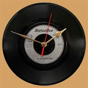 In The Army Now : status quo in the army now vinyl clocks ~ Medecine-chirurgie-esthetiques.com Avis de Voitures