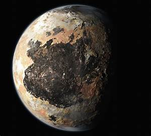 New artist's renderings of Pluto