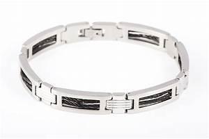 Bracelet En Argent Homme : bracelet homme l 39 acier c 39 est un peu brut ~ Carolinahurricanesstore.com Idées de Décoration