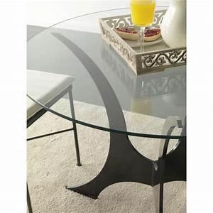 Pied En Fer Forgé : table en fer forg ronde milos granada 4 pieds tables chaises et tabourets ~ Teatrodelosmanantiales.com Idées de Décoration