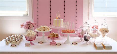 pink dessert table baby shower kara 39 s party ideas umbrella themed baby shower kara 39 s
