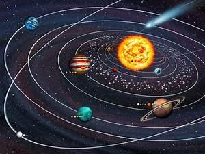 Solar System Asteroid Belt - Bing images