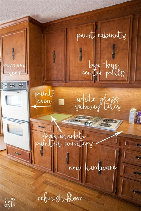 Kitchen Makeover Plans: Bye Bye 1970's   In My Own Style
