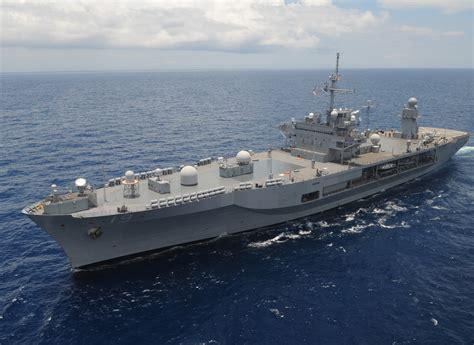 The Amphibious Command Ship Uss Blue Ridge (lcc 19