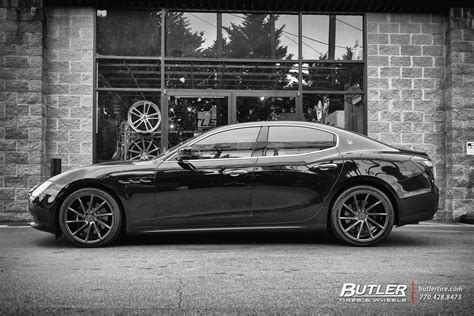 maserati ghibli   vossen cvt wheels exclusively