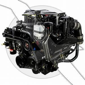 Mercruiser 350 Mag Mpi Alpha Plus Series Cpo Marine Engine Motor 300hp 863611r11