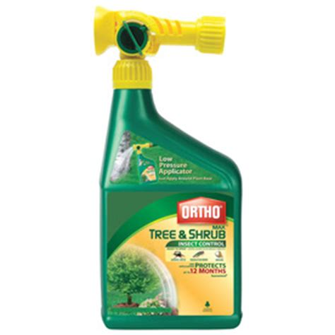 shop ortho tree  shrub insect spray  lowescom