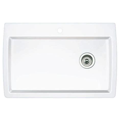 white single bowl kitchen sink blanco dual mount granite composite 32 5 in 1 1868
