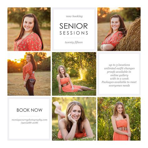 Now Booking Senior Sessions