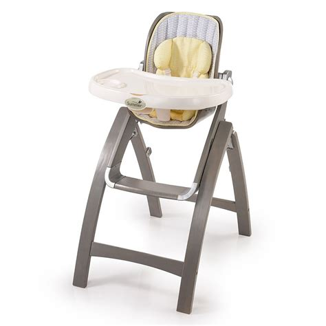 summer infant bentwood highchair grey chevron leaf