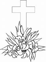 Coloring Cross Pages Easter Printable Printables Drawing Sheets Adult Flowers Bestcoloringpagesforkids Roses Christian Getcoloringpages Getdrawings Toddler Template Popular sketch template