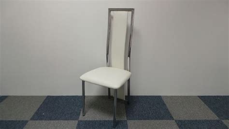 awesome table chaise blanche contemporary