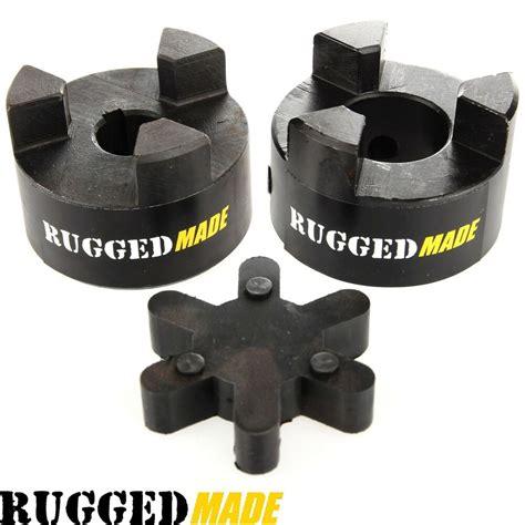 lovejoy flexible  type jaw coupler rubber spider motor shaft hub coupling ebay