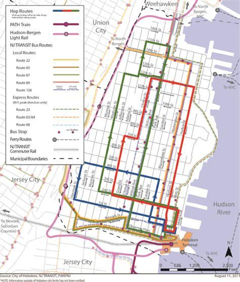 nj light rail map hoboken transit map light rail ferry
