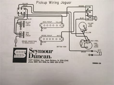 Series Parallel Wiring Diagram For Offsetguitars